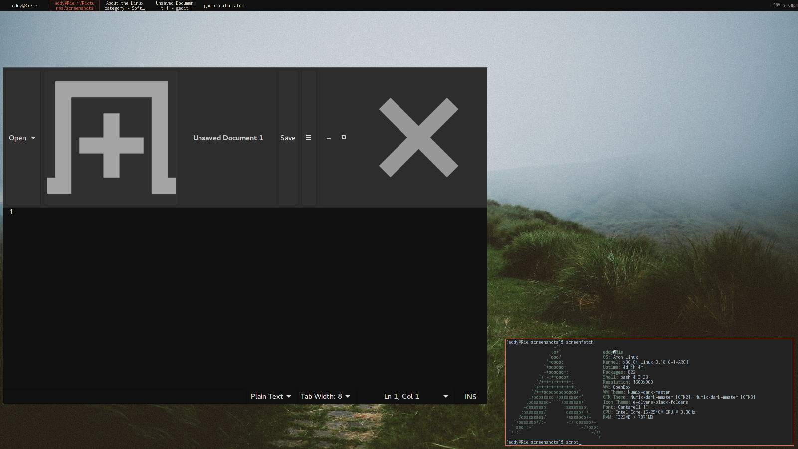 I think I messded up Openbox or my GTK theme (solved