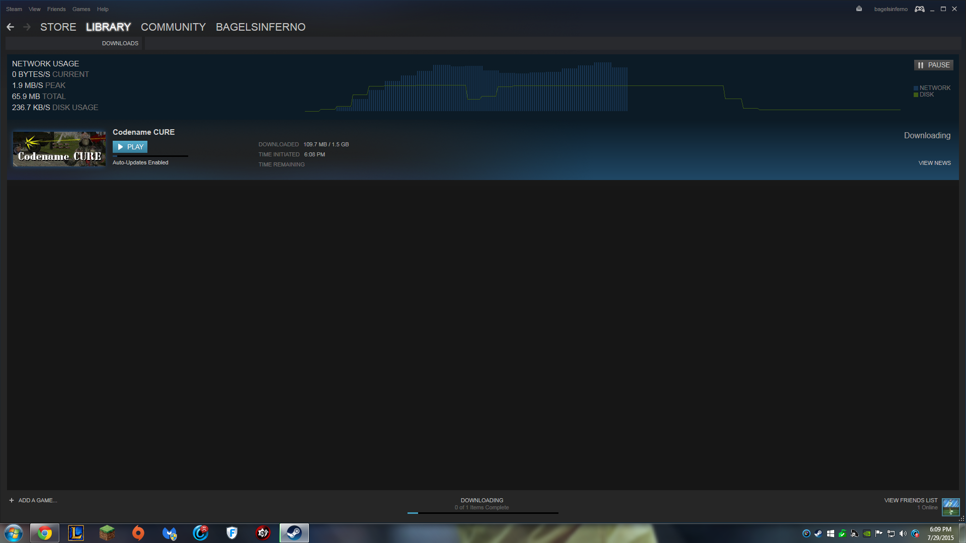 Steam 0Bytes per second - Video Games - Level1Techs Forums