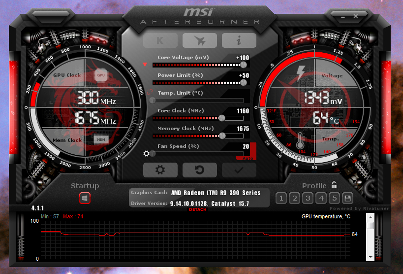 MSI R9 390 overclocking - did I do it right? - Overclocking