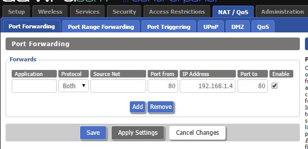 Port forwarding for WEB HOSTING - Networking - Level1Techs