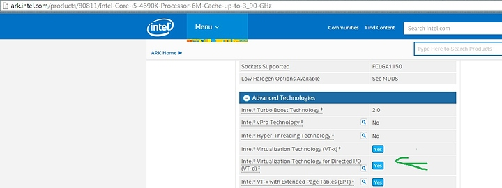 VT-D on i5-4690K and i7-4790K?! - CPU - Level1Techs Forums