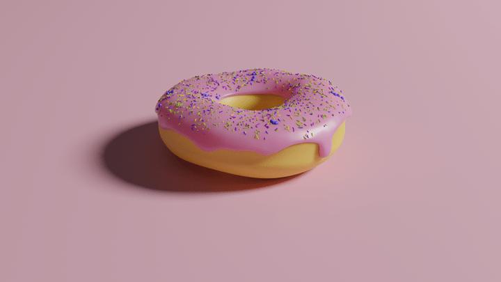 DonutRenderWithSprinkesV1