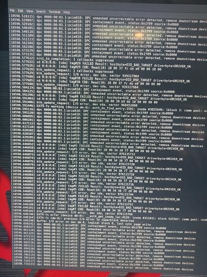 Threadripper & PCIe Bus Errors - Linux - Level1Techs Forums