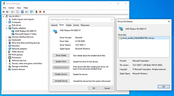 vm device manager