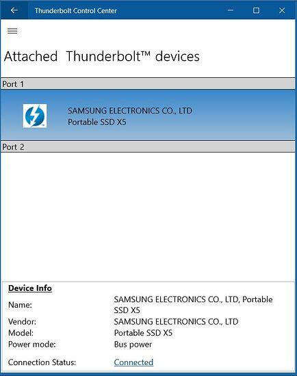 ThunderboltSoftware screenshot NVM23 - attached