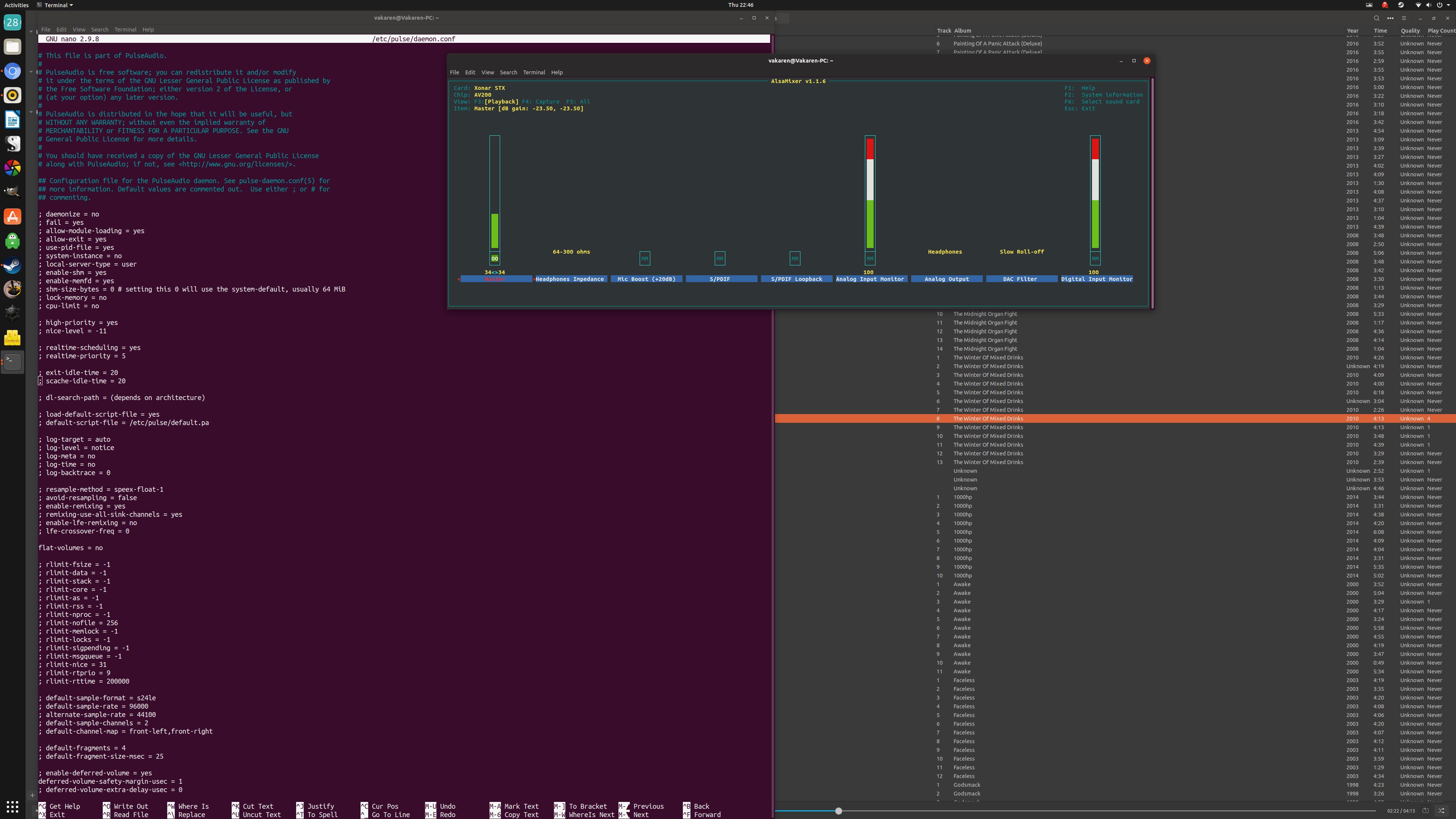 solved]Configure Xonar STX for Linux/Ubuntu - Linux