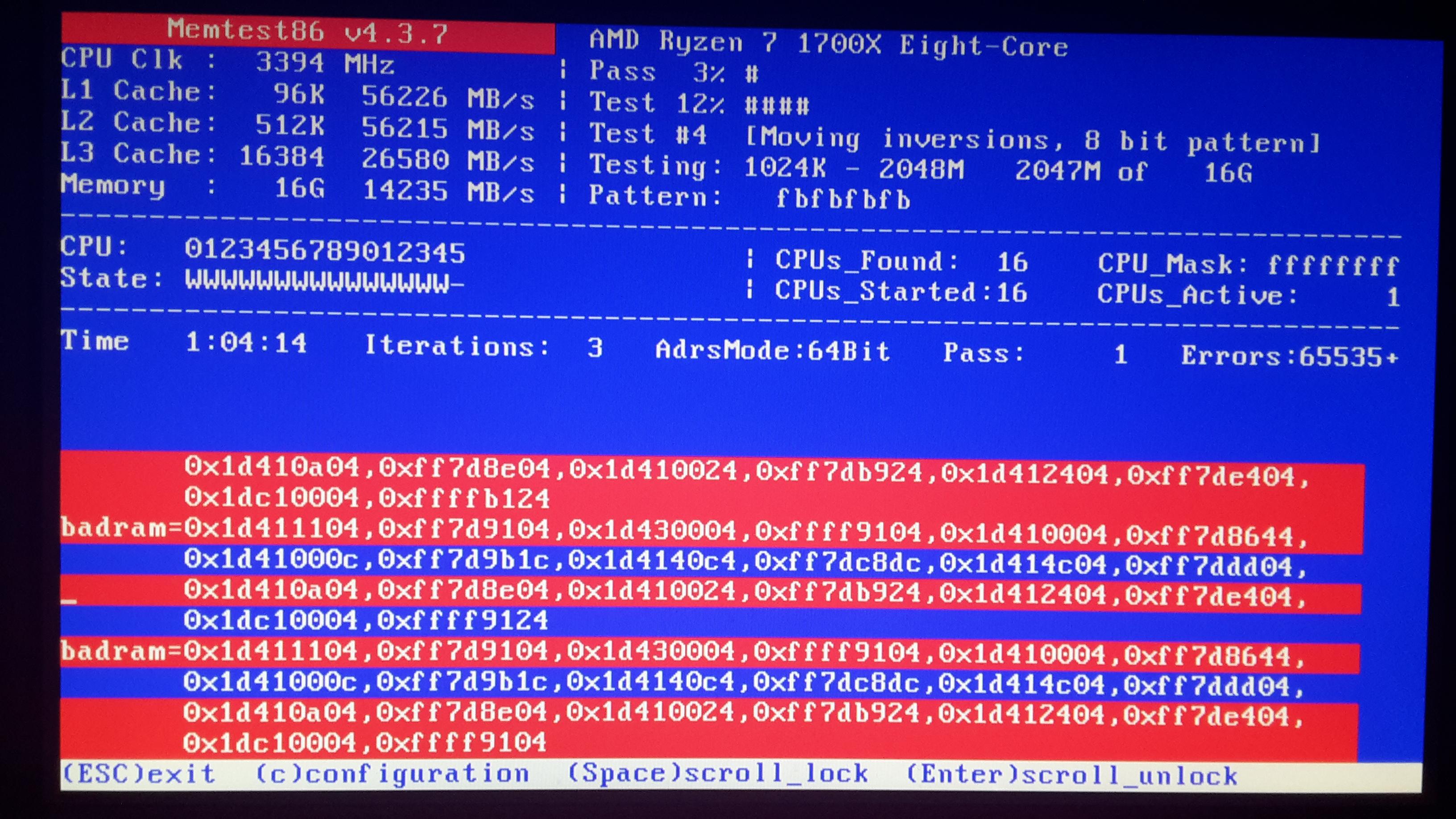 Solved]Ryzen 7 1700x crashes/instability - Hardware