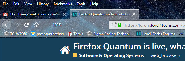 Firefox Quantum is live, what are your guys impressions - Software