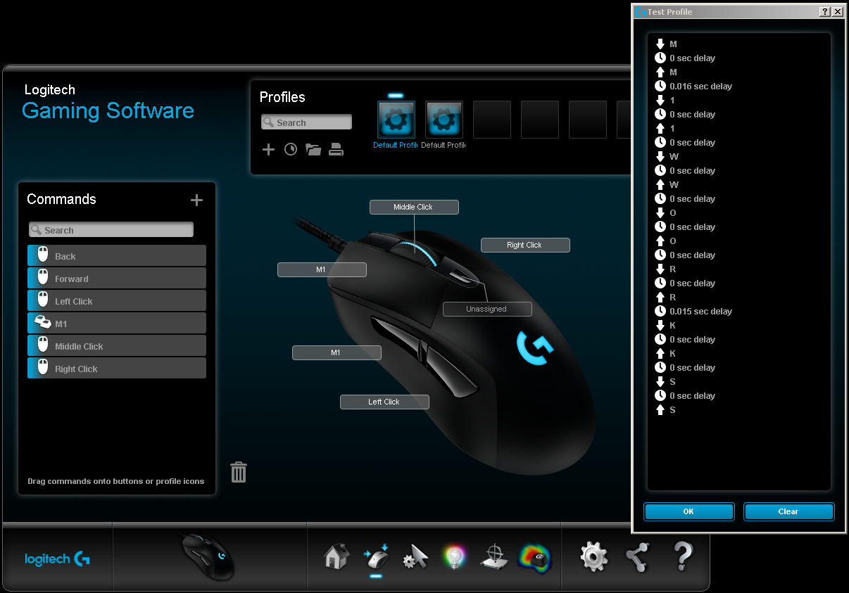 Hacking the Logitech G403 Left and Right button Macros? - Other