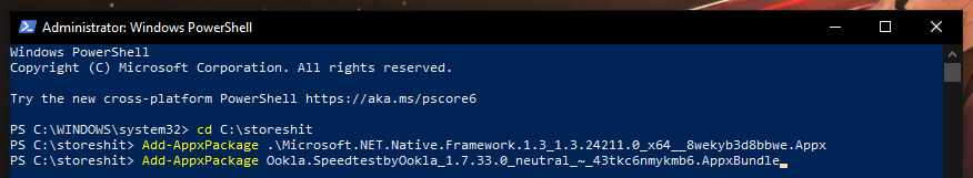 Download Appxpackage Powershell