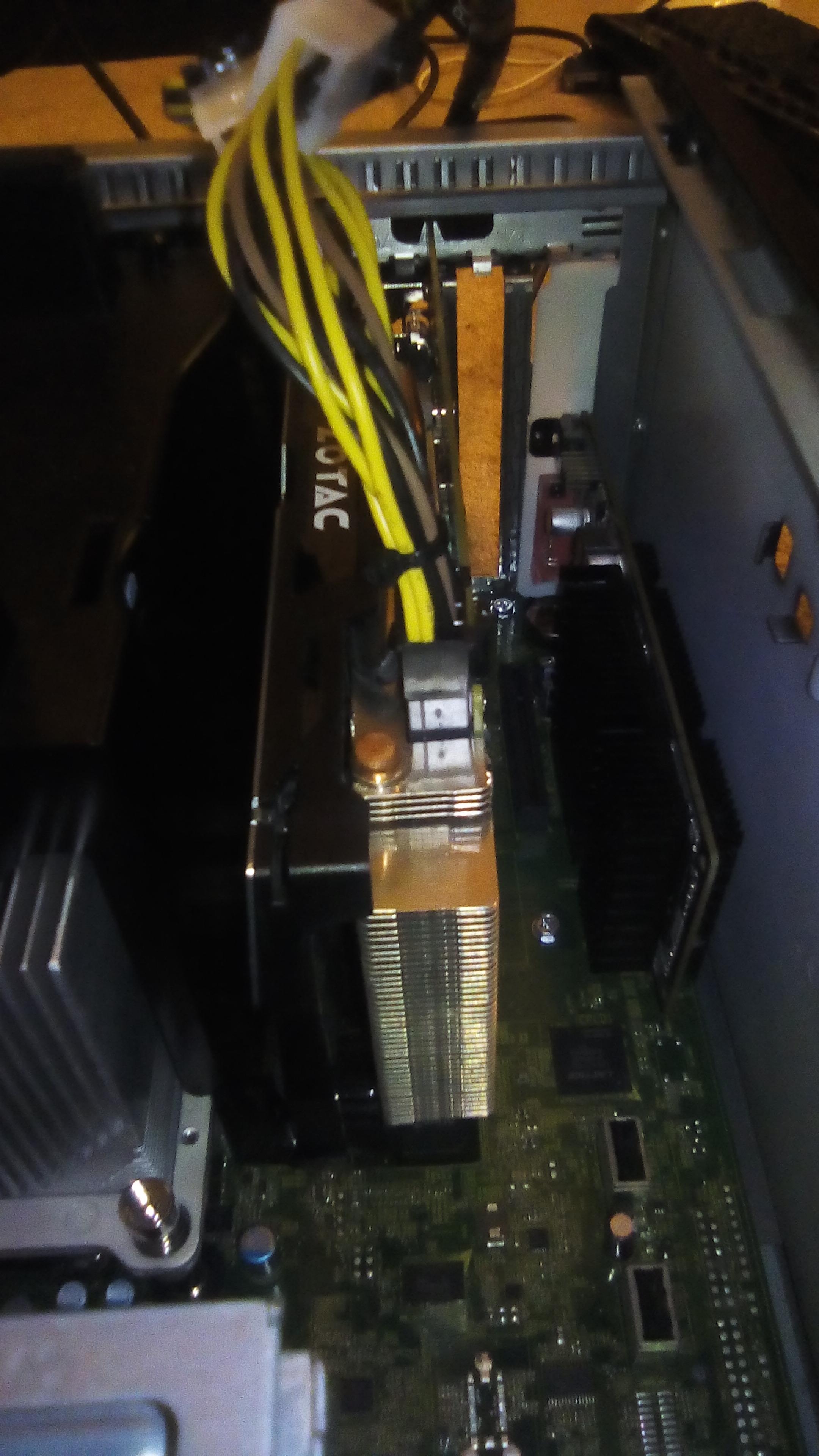 Dell PowerEdge T110 ii GPU solution found - Build a PC