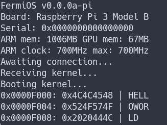 FermiOS: An OS development for Raspi 3 - Code - Level1Techs Forums