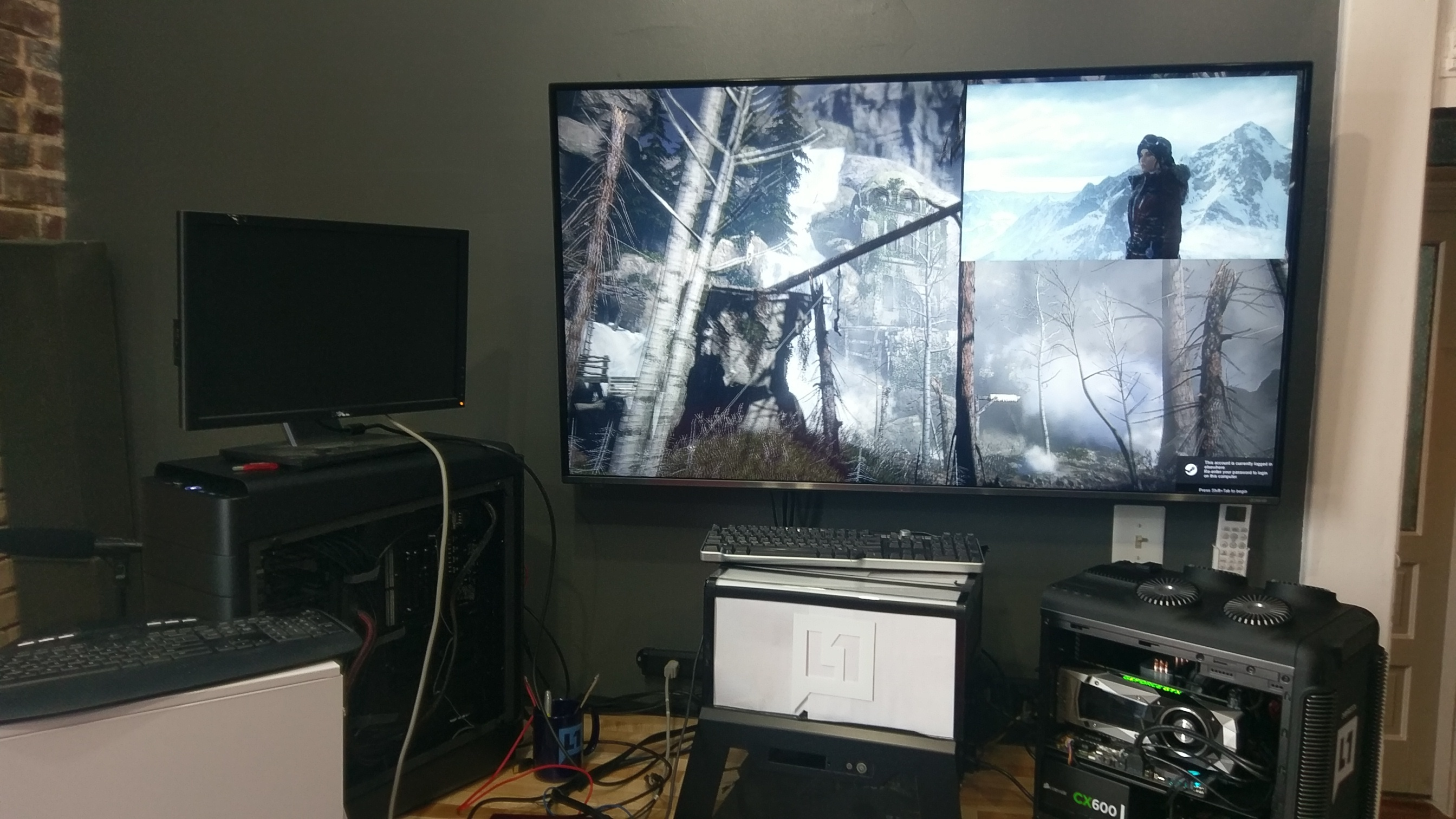 Quickie Rise of the Tomb Raider DX12 testing on Ryzen vs Kaby Lake