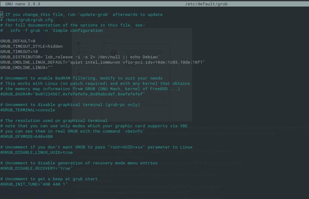 Error at finalizing KVM/QEMU * qemu-system-x86_64: failed to