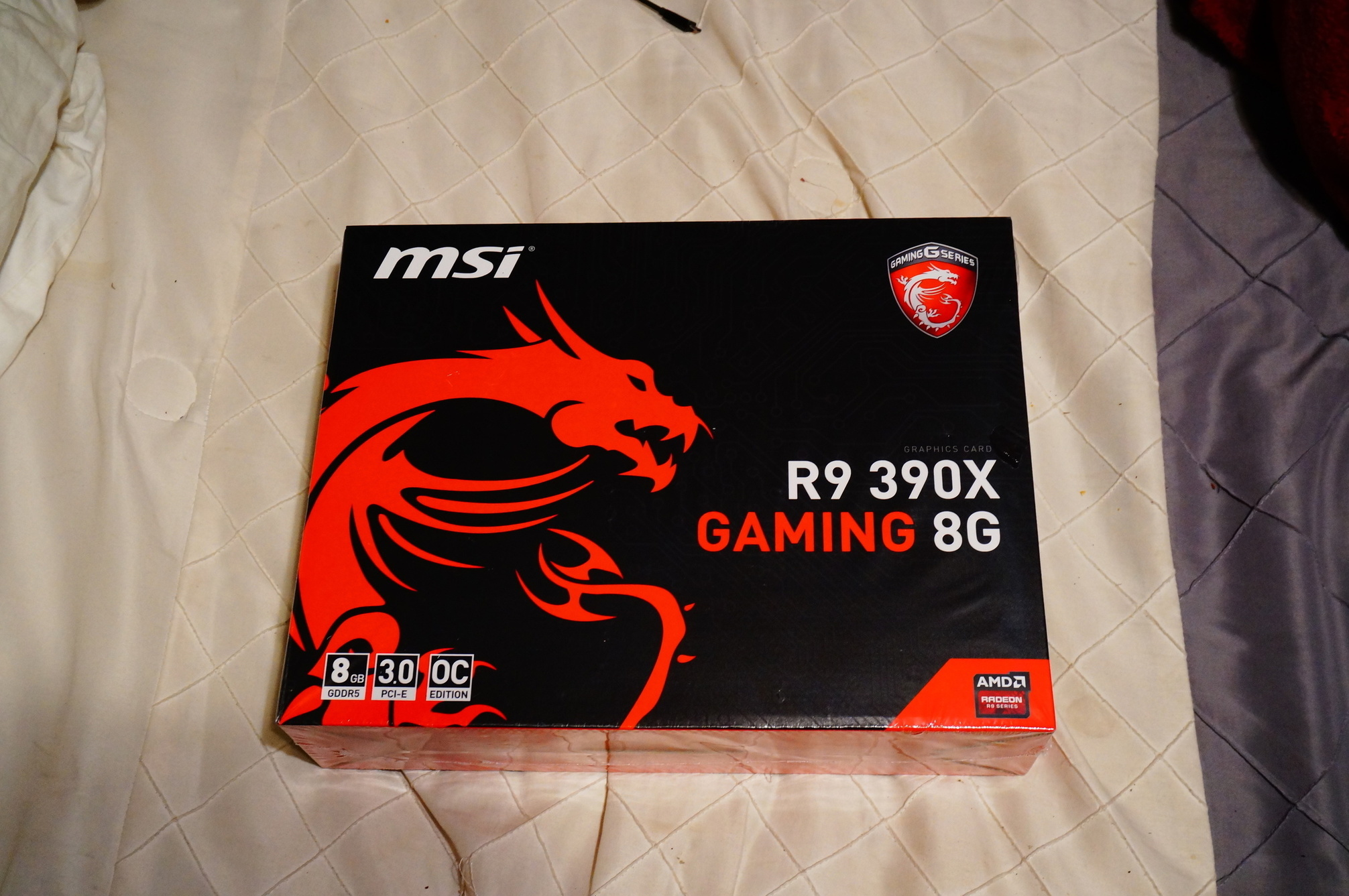Updated: Card recieved ) I've been converted into an MSI