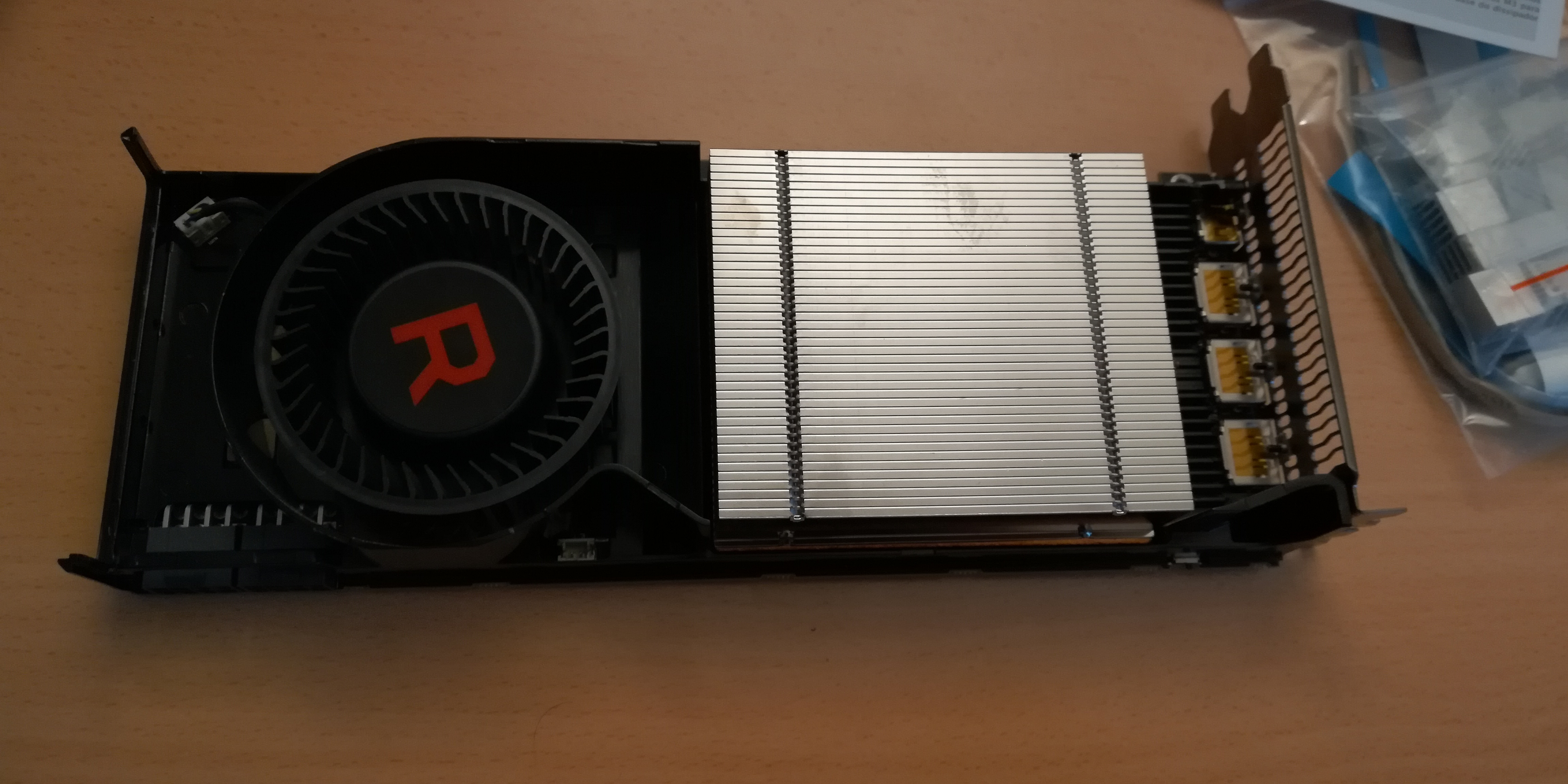 Vega56: Modification and Perfomance   Learning by doing