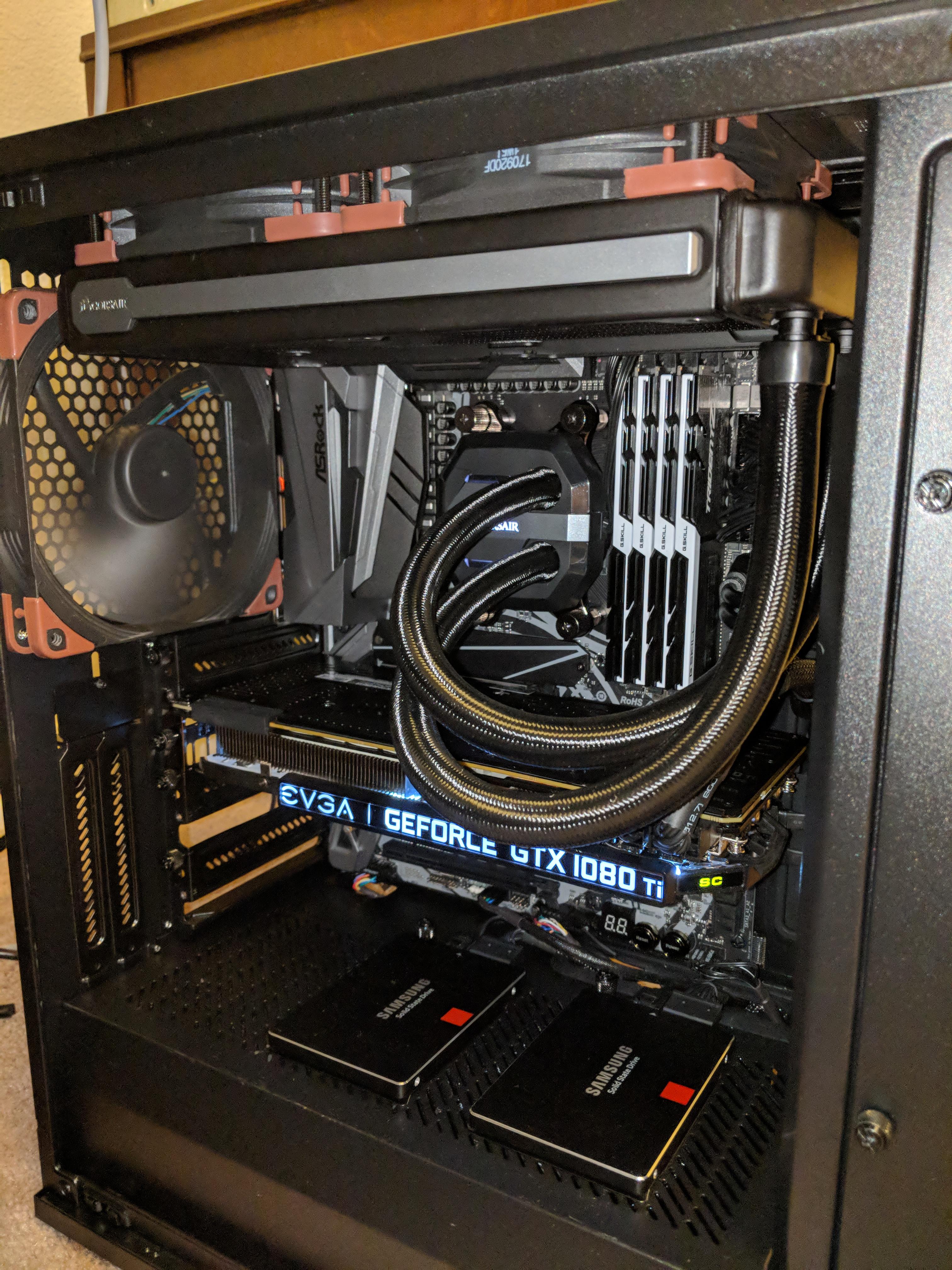 Ryzen Hypervisor Build - x470 Asrock Taichi Ultimate - VFIO