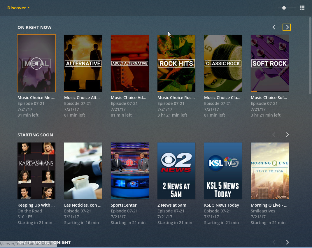 Plex DVR & Live TV - Software & Operating Systems - Level1Techs Forums
