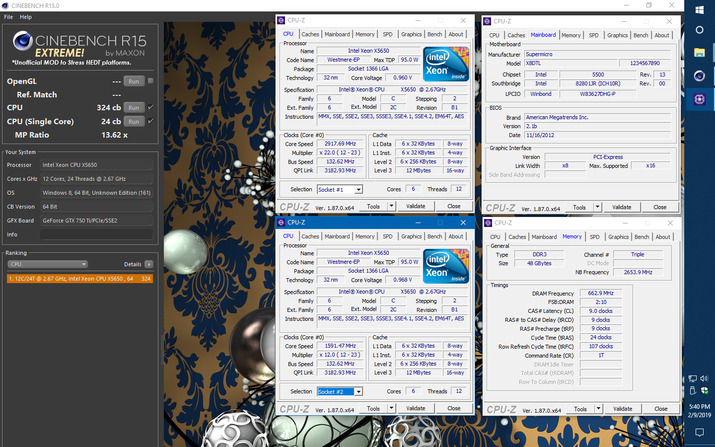 Cinebench R15 Extreme! AND Cinebench R20 - Benchmarking