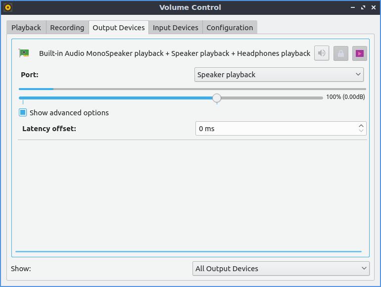 Lubuntu - HP Pavilion x2 Detachable PC 10 (tablet) sound