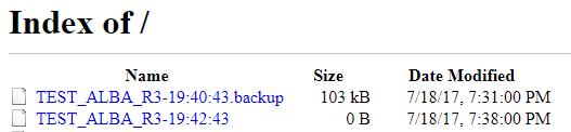 Upload MikroTik Backup file to Linux Server using FTP - Networking