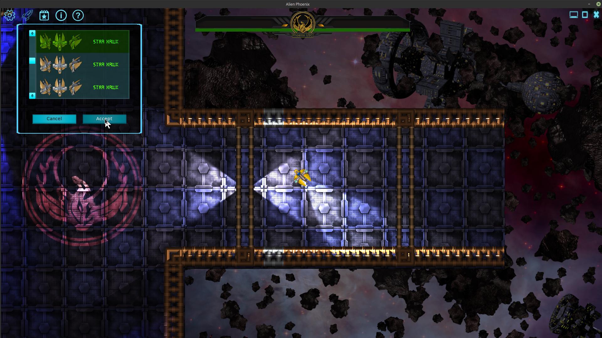 Alien Phoenix game engine  Phoenix USC - Game Development