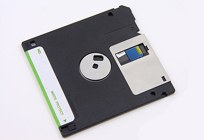 Floppy SD card