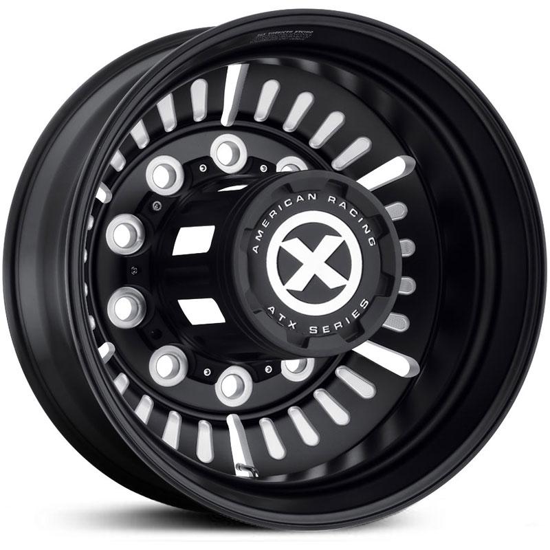 american-racing-otr-ao403-roulette-satin-black-rear-semi-truck-custom-wheels-rims
