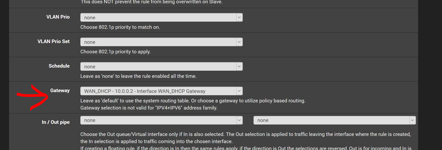 Pfsense, bypassing VPN on specific devices for Netflix