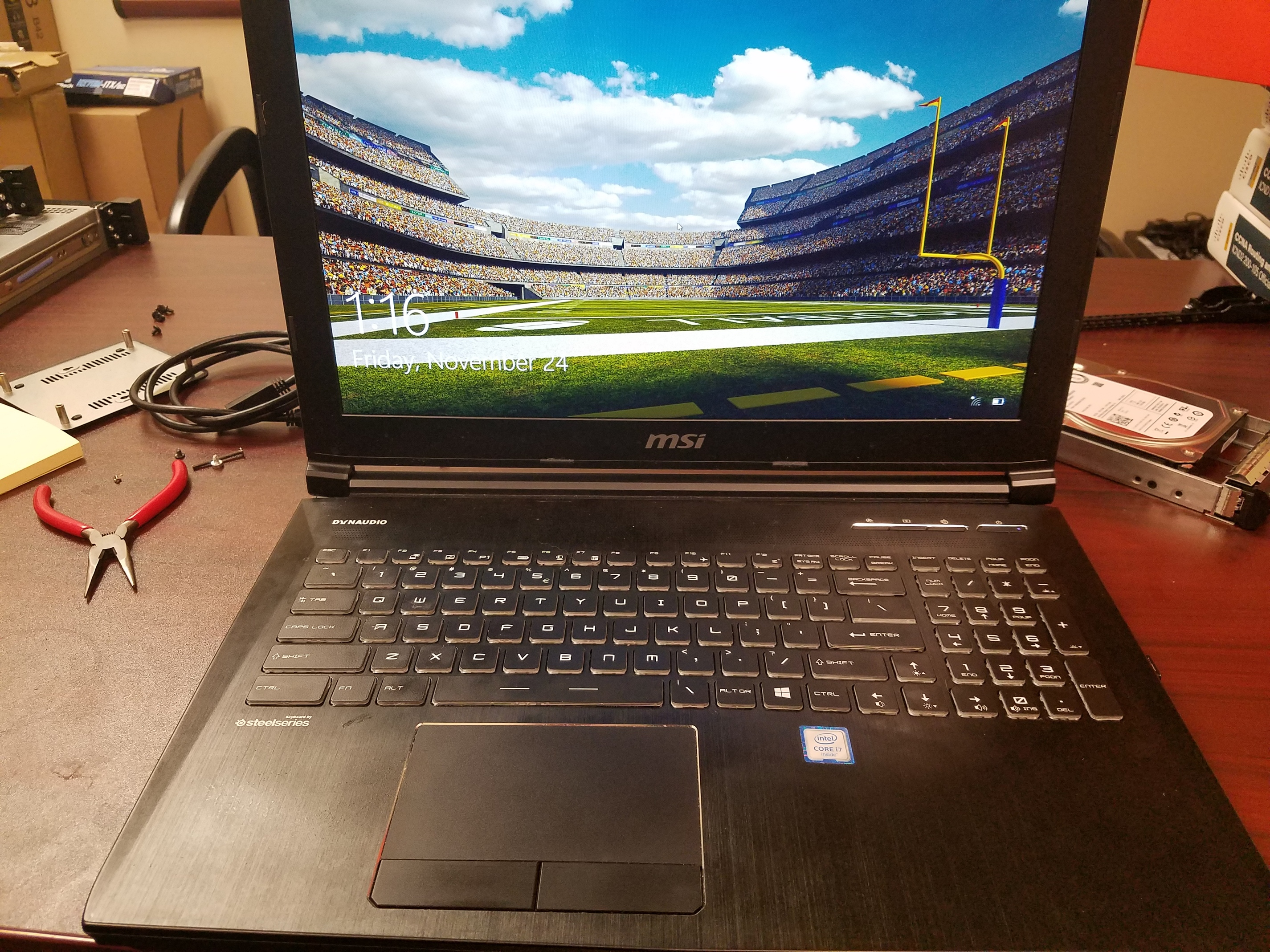 WTS][US]MSI GT62VR w/gtx 1070 + upgrades - $1350 - Buy/Sell