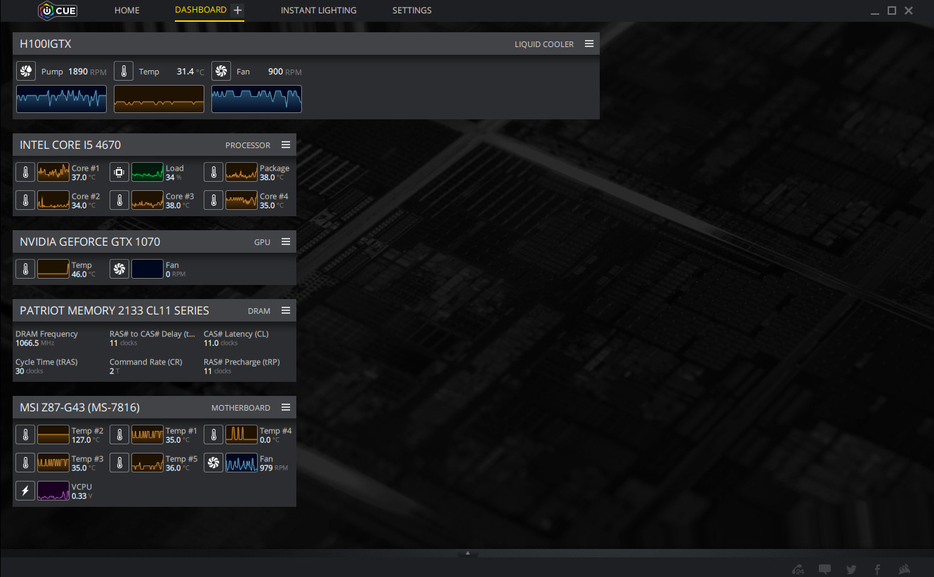 Corsair Link high cpu package - Cooling - Level1Techs Forums