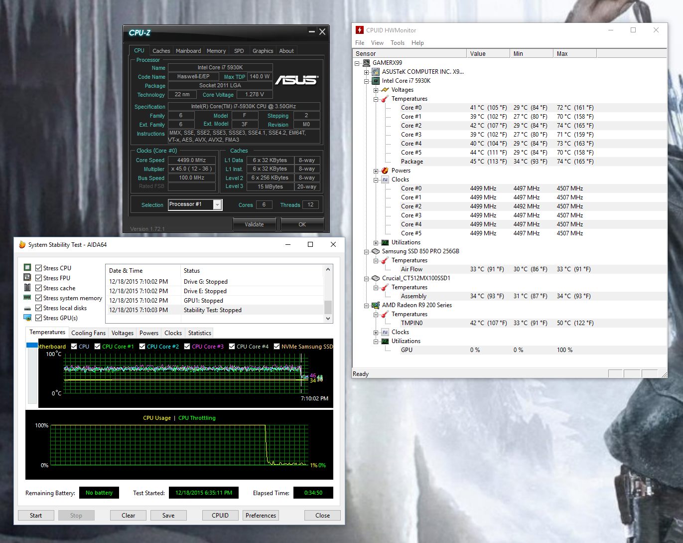 What's your Temps + Setup? - Cooling - Level1Techs Forums