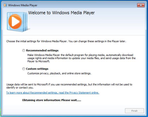 Player windows media