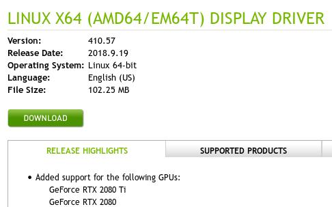 Nvidia Linux Driver Ubuntu
