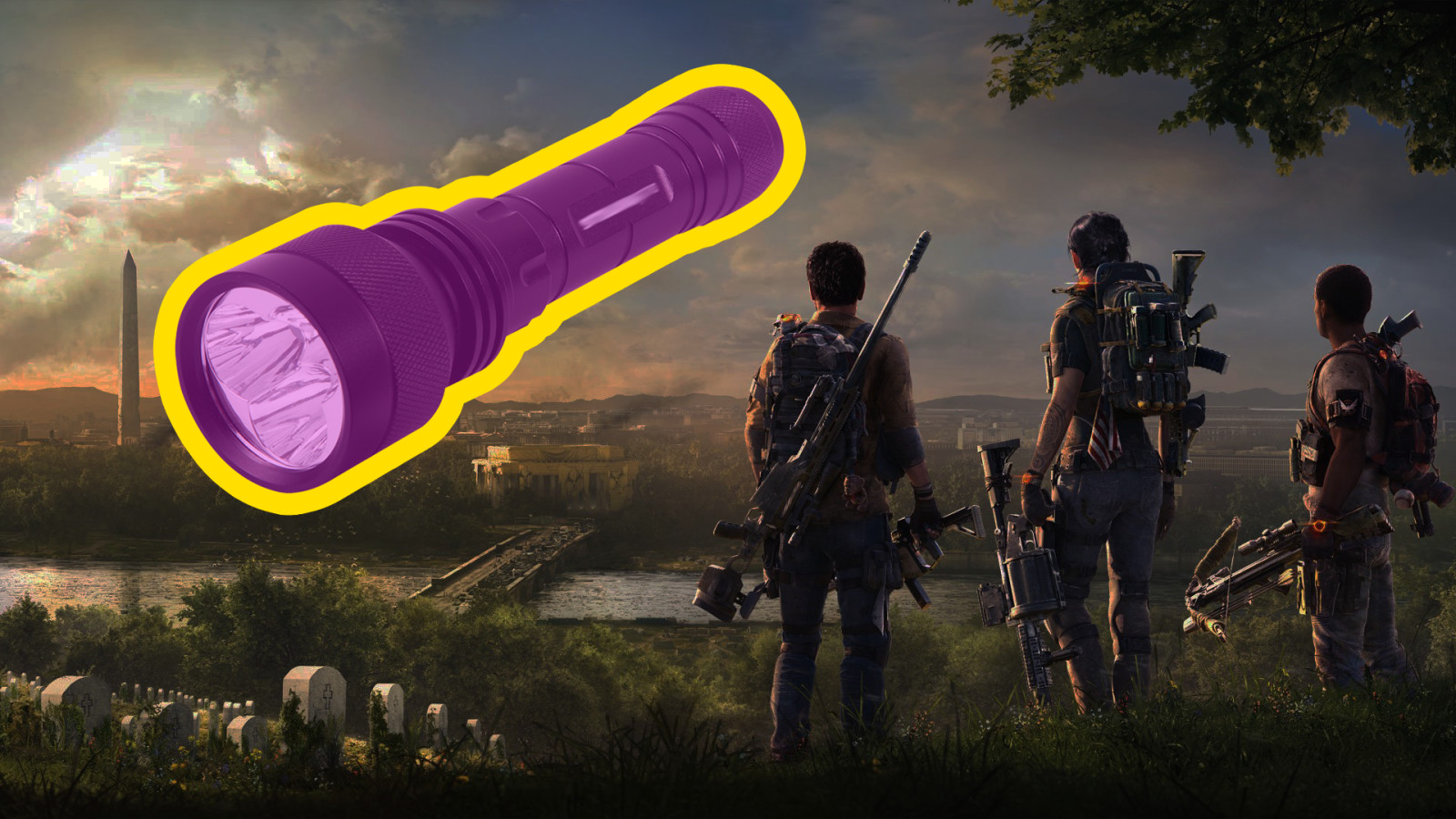 Division 2 Players Really Want Some Flashlights - Video