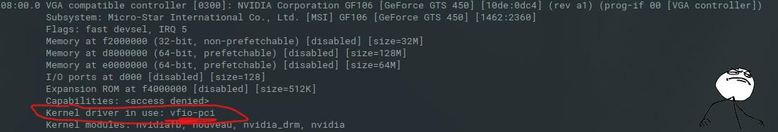 Elementary OS 5 0 / Ubuntu 18 XX - VFIO PCIe passthrough