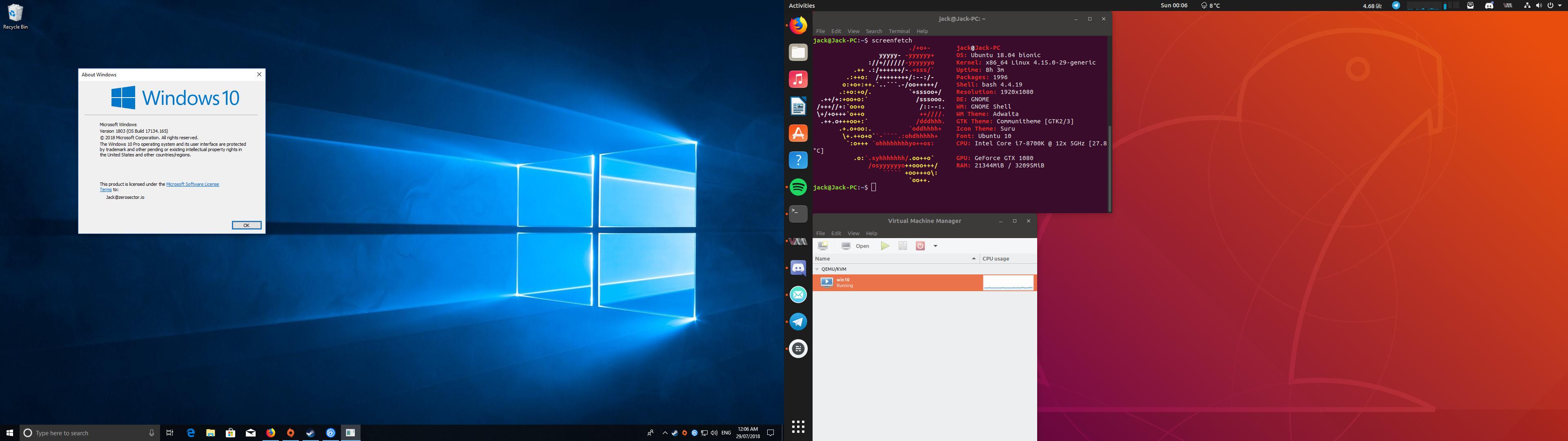 Permission denied as root for vfio-pci conf Ubuntu server 18 04
