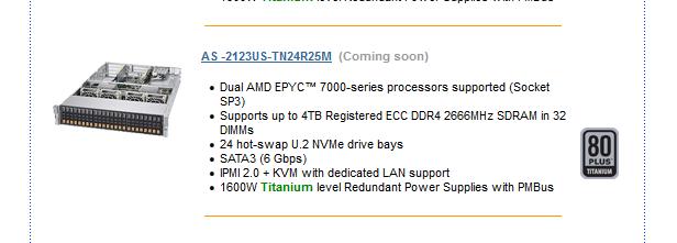 Supermicro Epyc 3000