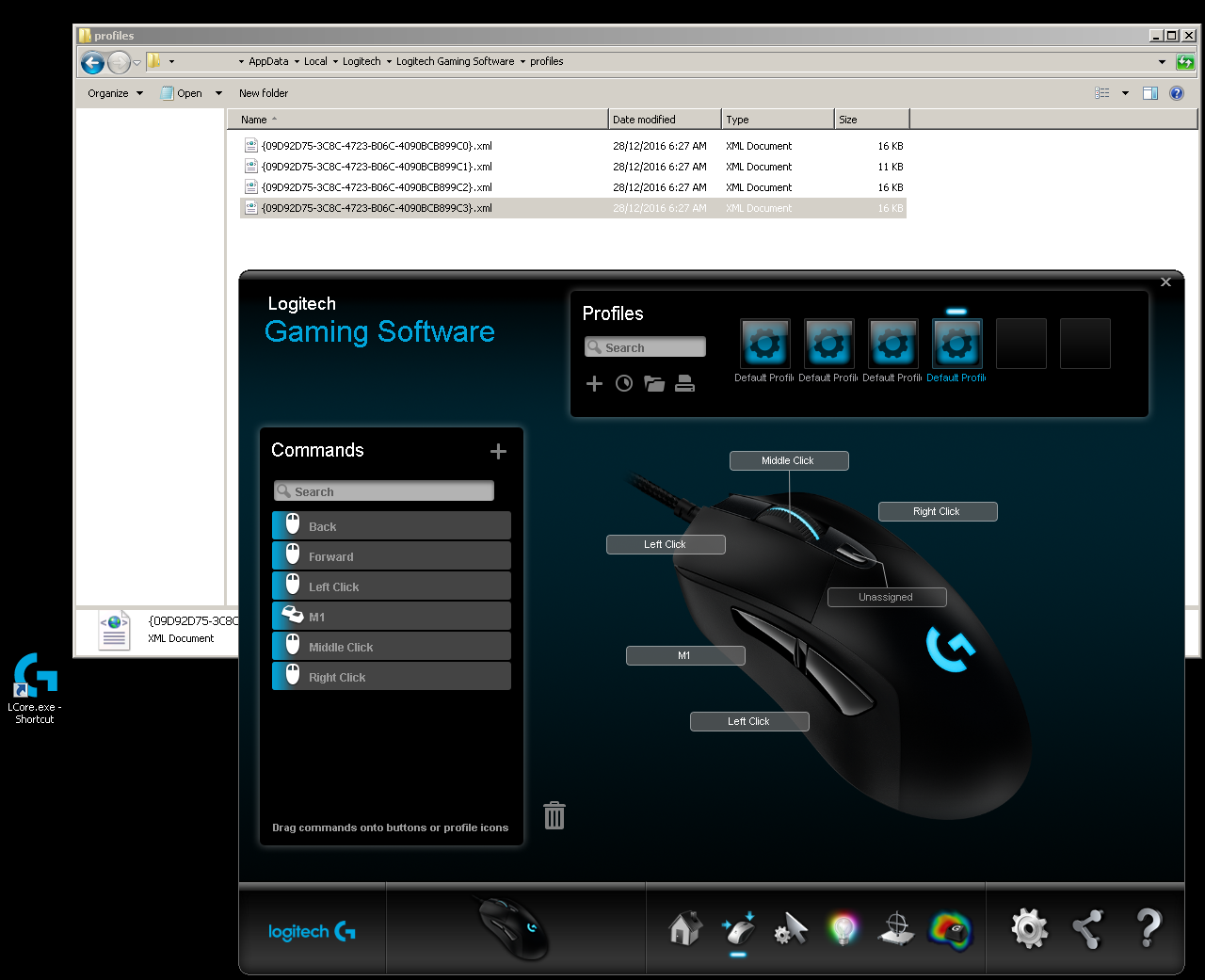 Hacking the Logitech G403 Left and Right button Macros