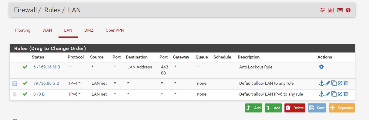 PFsense OpenVPN NAT - Networking - Level1Techs Forums