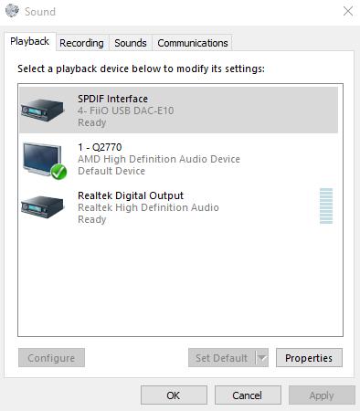 Need help with Fiio E10k USB DAC/AMP! - Audio Hardware