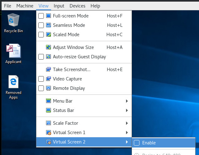 Multiple monitors in Virtualbox - Software & Operating Systems