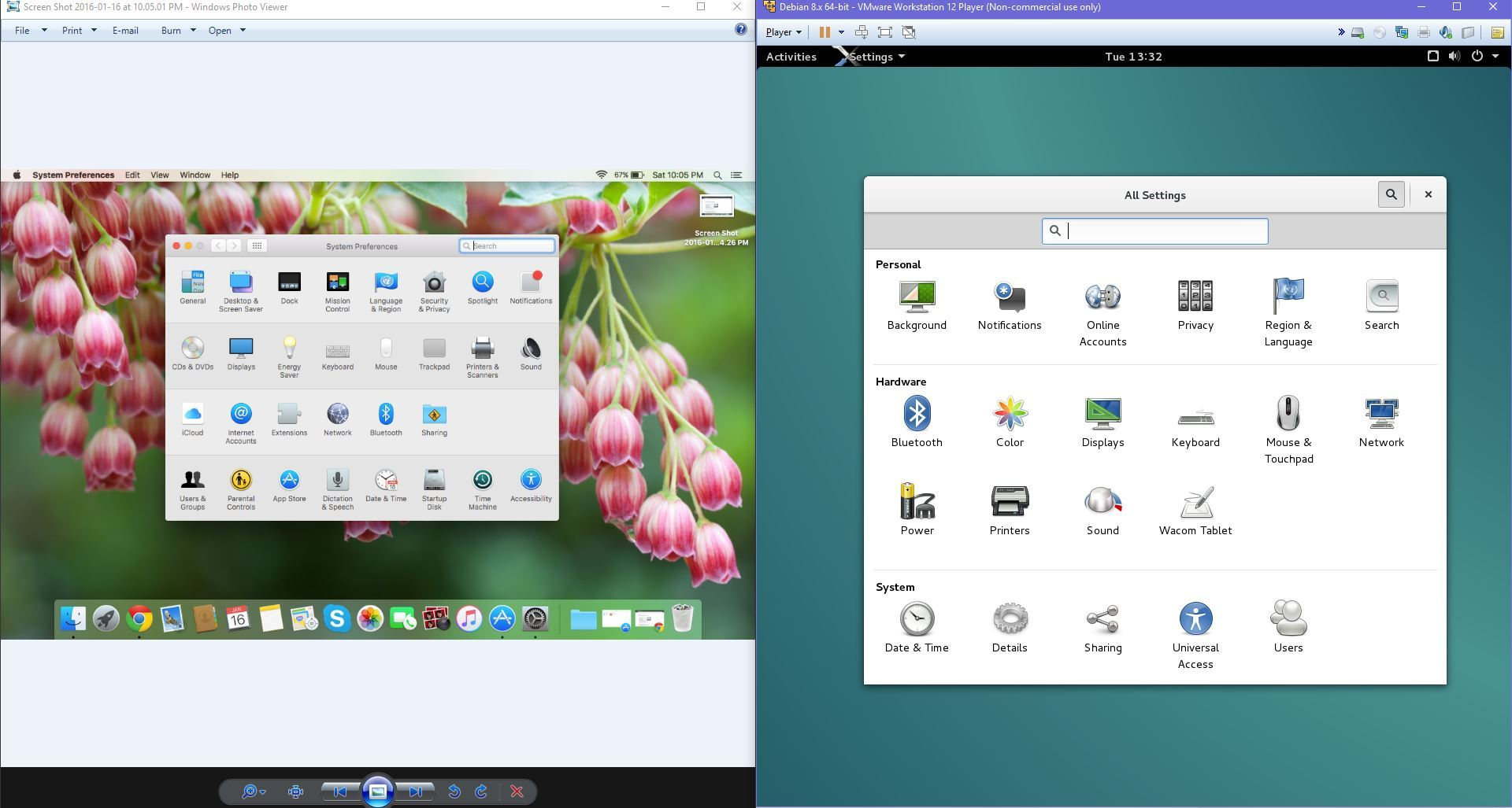 How Similar is OS X to Debian/Unix/Linux, and universal