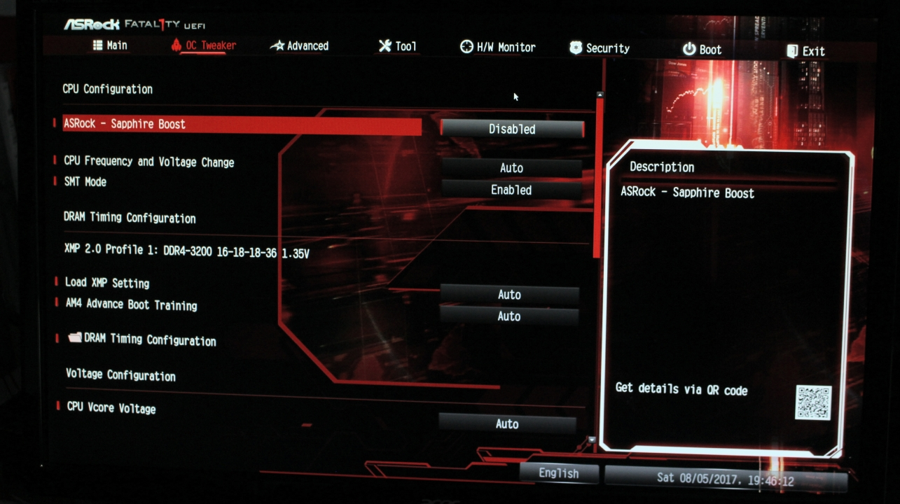 ASRock Sapphire Boost question [Solved] - Motherboards