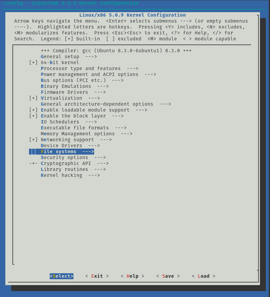 Building Custom Kernel with ZFS Built In - Updated 0 8 or