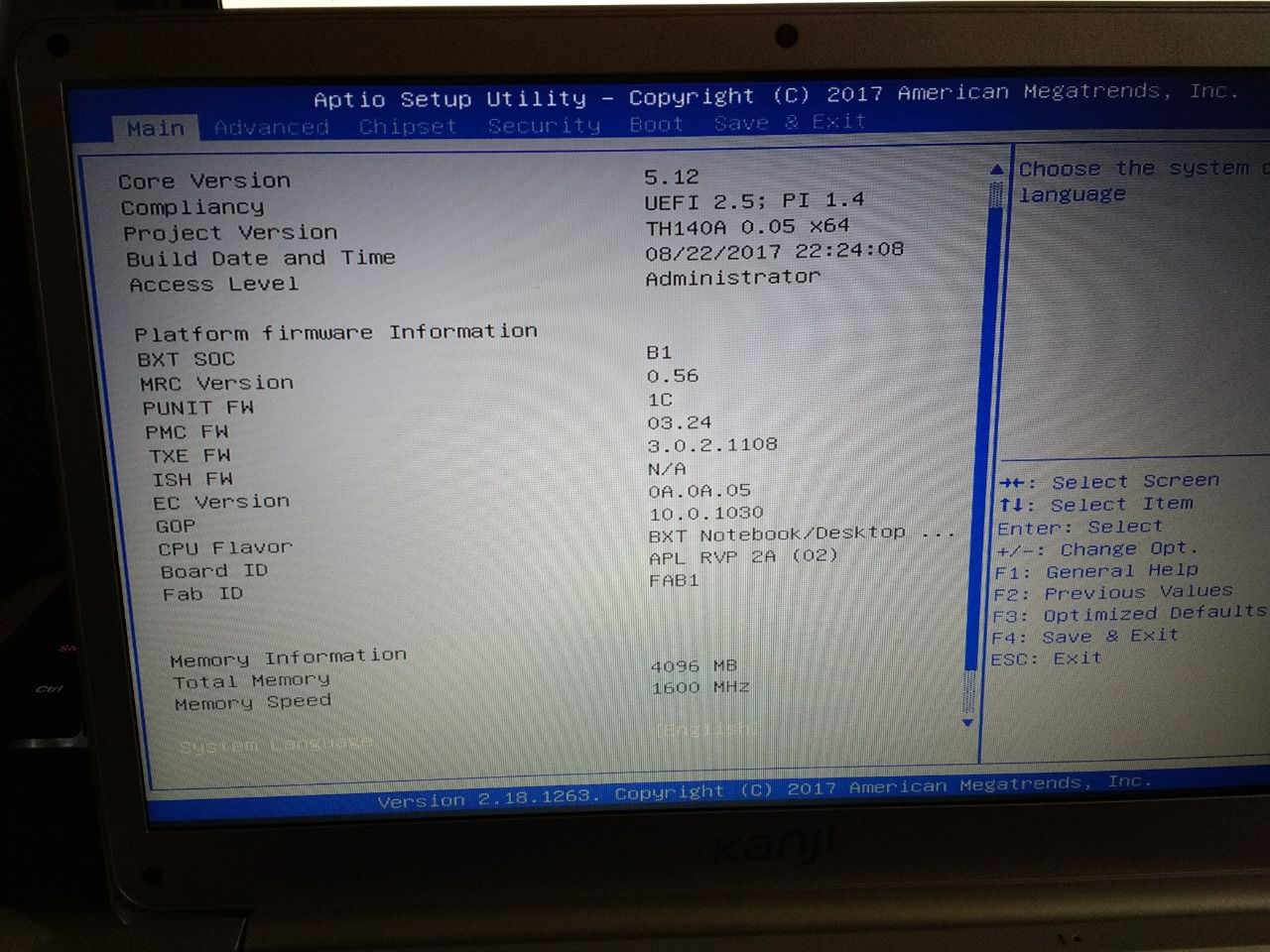 Can't put linux on my notebook! [Updated] - Linux