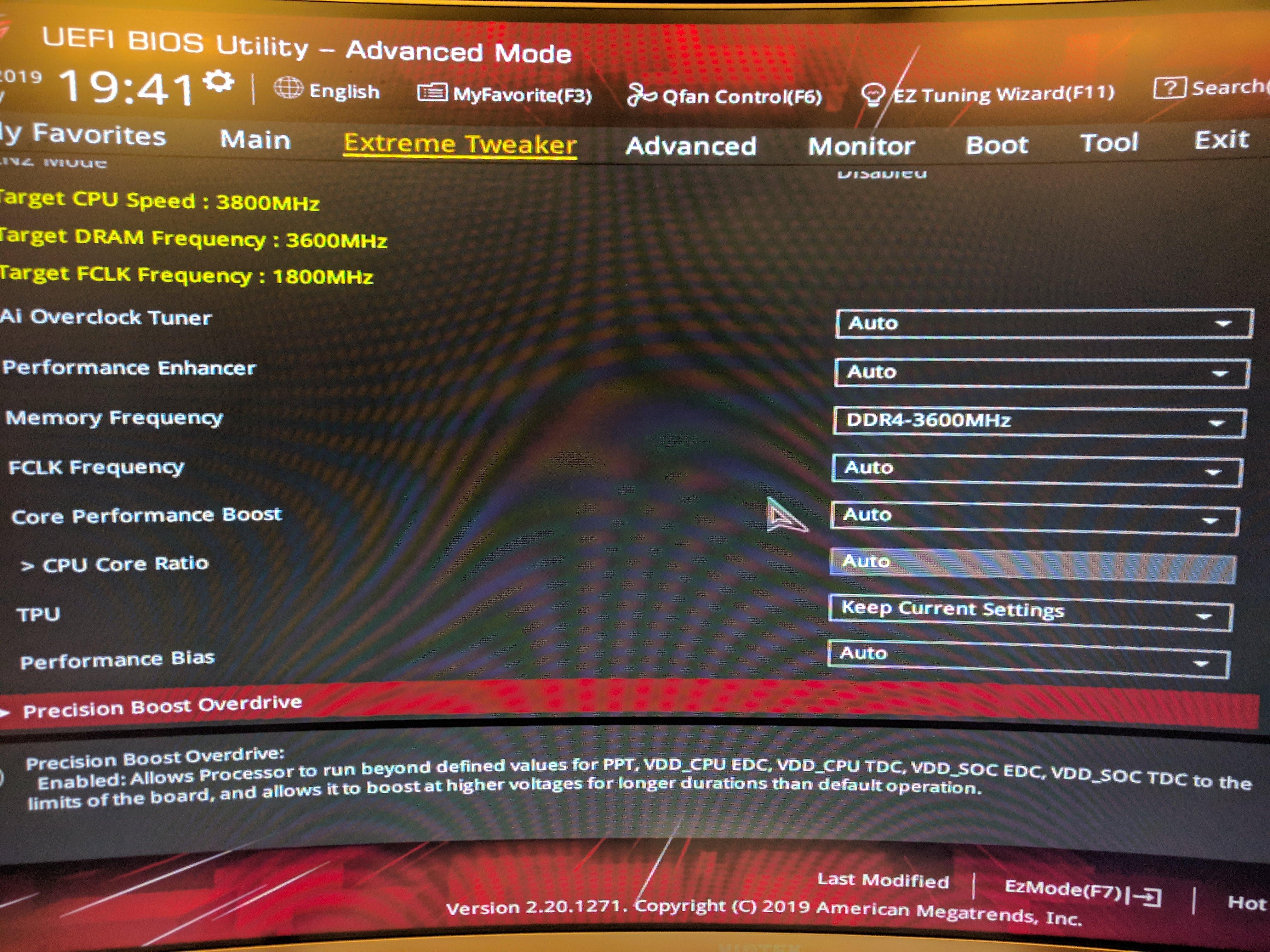 Aorus Master x570 Perfect UEFI Settings - Hardware - Level1Techs Forums
