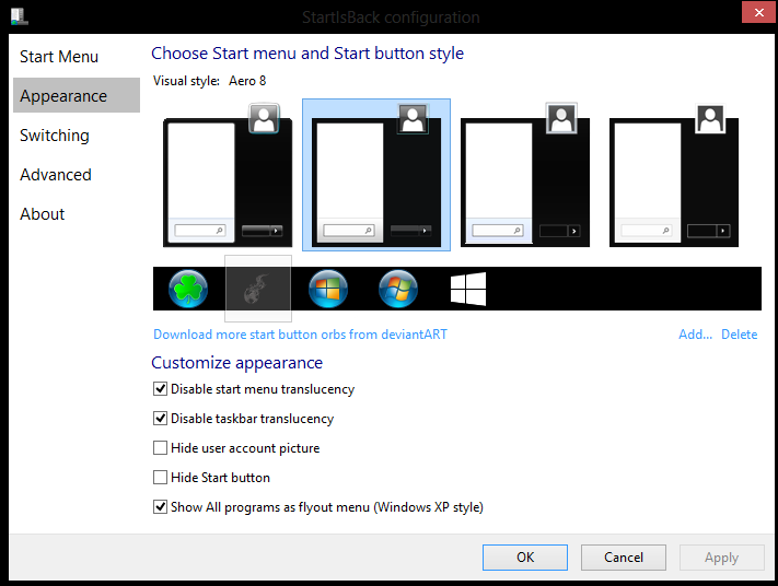 How-To Get a Tek Syndicate Windows Start Button - Windows