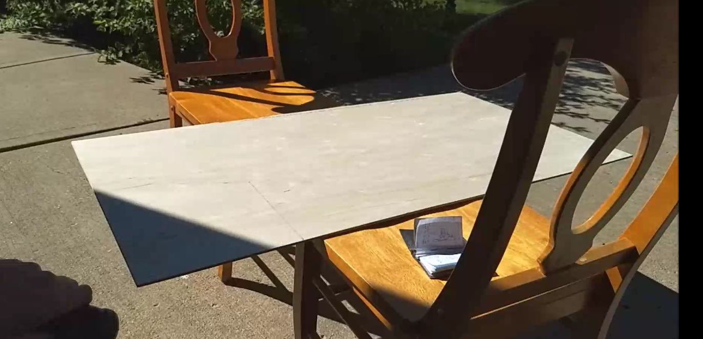 Got a sheet of Plywood
