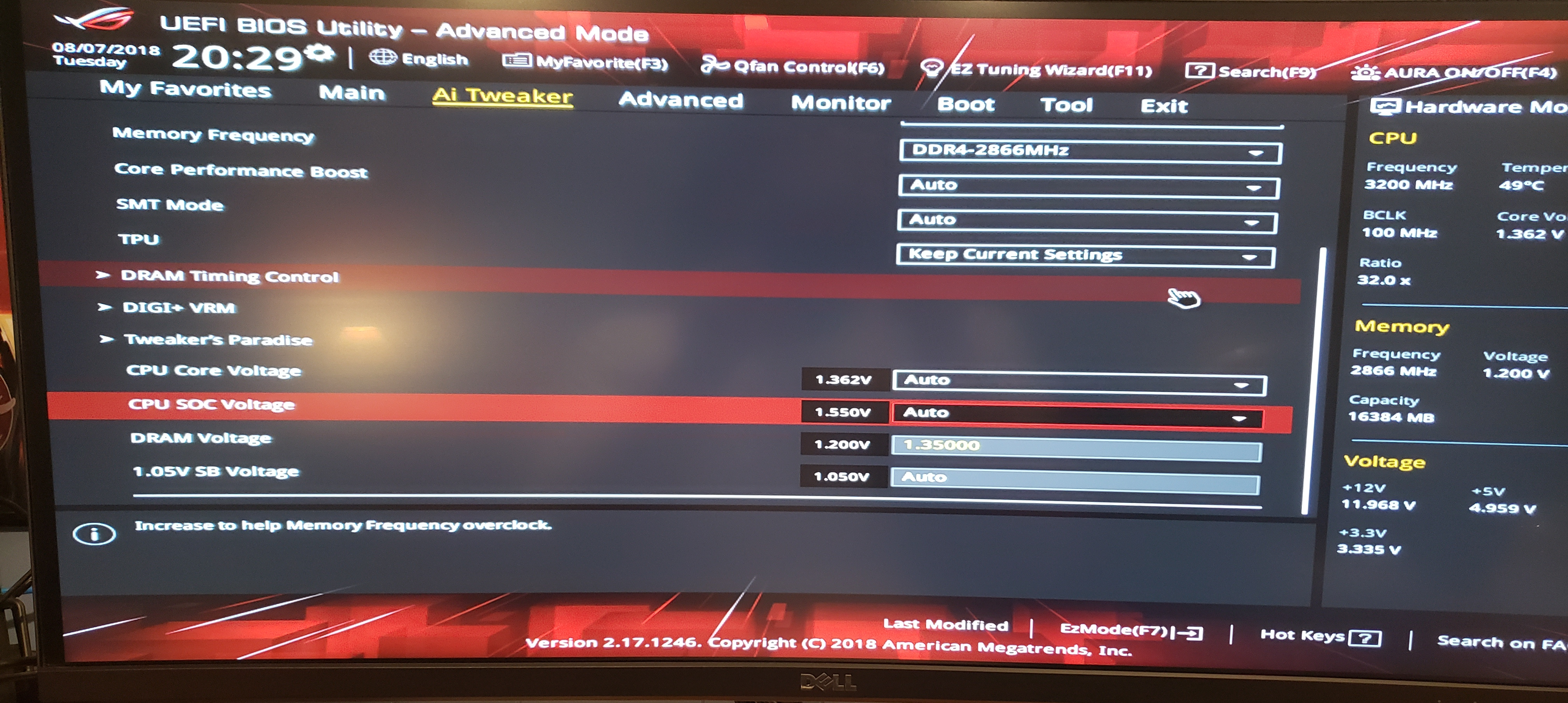 SOLVED]Ryzen build RAM not stable at 3200MHz - Overclocking